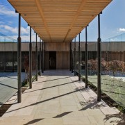The Lake House – Resene Architectural Design Awards architecture, daylighting, real estate, roof, structure, walkway, brown, orange