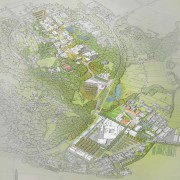 New Zealand Architecture Awards bird's eye view, map, plan, urban design, gray