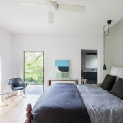 Bijl Architecture bedroom, ceiling, daylighting, estate, home, house, interior design, living room, property, real estate, room, wall, window, white, gray