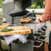 Check Out Our Recipes! barbecue, barbecue grill, brunch, cooking, cuisine, food, grilling, kitchen appliance, meal, outdoor grill, black