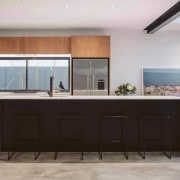Rowson Kitchen & Joinery cabinetry, countertop, cuisine classique, interior design, kitchen, property, real estate, gray, black