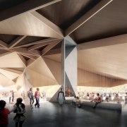 Architect: Terrior architecture, daylighting, structure, tourist attraction, black