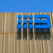Channel 9 Headquarters – Cox Howlett & Bailey blue, line, material, product, blue, brown
