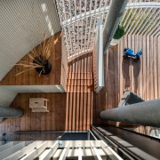 The Tervahovi Silos / PAVE Architects - The architecture, ceiling, daylighting, interior design, gray