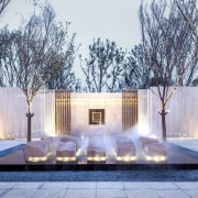Vanke Park Mansion 'True Love' – FLOscape Landscape architecture, estate, home, house, interior design, lighting, property, real estate, water feature, gray