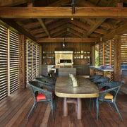Architect: Olson KundigPhotography by Benjamin Benschneider hardwood, interior design, living room, real estate, wood, brown