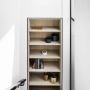 Architect: Technē Architecture + Interior DesignPhotography by furniture, product design, shelf, shelving, white