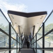 Cheltenham Station – Cox Architecture - Cheltenham Station architecture, building, daylighting, house, white