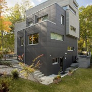 Architect: ZeroEnergy DesignPhotography by Eric Roth architecture, building, cottage, elevation, facade, home, house, property, real estate, residential area, siding, brown