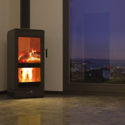 NZ's Most Efficient ULEB - Jayline's UL200 Ultra fireplace, hearth, heat, home appliance, stove, wood burning stove, brown, black