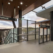 Cheltenham Station – Cox Architecture glass, real estate, gray, brown