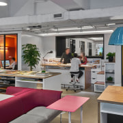 The new M Moser office in Hong Kong countertop, interior design, kitchen, gray