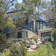 Architect: Alexandra Buchanan ArchitecturePhotography by Debra McFadzean cottage, estate, home, house, land lot, property, real estate, tree, gray