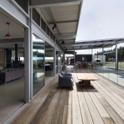 Living room > Outdoor area > Pool - house, real estate, white, gray, black