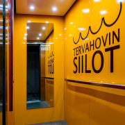 The Tervahovi Silos / PAVE Architects - The interior design, yellow, orange, brown