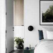Architect: Technē Architecture + Interior DesignPhotography by door, furniture, house, interior design, wardrobe, window, white, gray