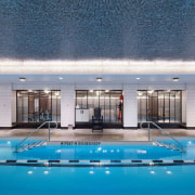 Jon Bon Jovi's new apartment in NYC – condominium, estate, leisure, leisure centre, property, real estate, resort, resort town, swimming pool, water, teal, gray