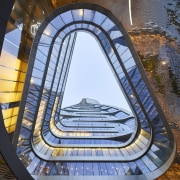 Raffles City Hangzhou – UNStudio - Raffles City architecture, building, daylighting, structure, teal