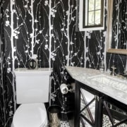 Original story from Trulia black and white, home, interior design, room, window, black, white