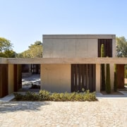 Architect: Ramón Esteve Estudio de Arquitectura architecture, estate, facade, home, house, property, real estate, teal