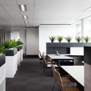 Austbrokers Countrywide – New office designed by A1 conference hall, interior design, office, white, black