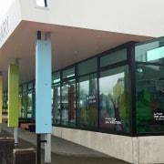 New Zealand Architecture Awards architecture, building, facade, glass, window, white, black