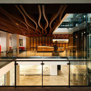 Wellington Architecture Awards architecture, glass, interior design, lobby, black