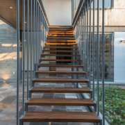 Colima home/Di Frenna Arquitectos - Colima home/Di Frenna architecture, daylighting, handrail, stairs, gray, black