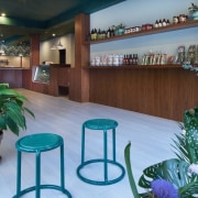 Wholesome Cuts Butcher Shop - Wholesome Cuts Butcher home, interior design, lobby, real estate, teal