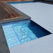 Safe, clean, and saving heat and chemicals, a composite material, daylighting, floor, leisure, swimming pool, water, gray
