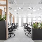 Architect: MetaformaPhotography by Krzysztof Strażyński ceiling, interior design, office, product design, white