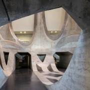 The Zeitz Museum of Contemporary Art Africa (Zeitz architecture, daylighting, symmetry, gray, black