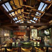 Architect: Olson KundigPhotography by Benjamin Benschneider interior design, wood, black, brown