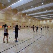 Games in progress - Games in progress - leisure centre, sport venue, sports, structure, gray, brown