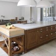 A traditional British kitchen cabinetry, countertop, cuisine classique, interior design, kitchen, room, gray