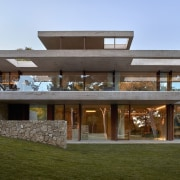Architect: Ramón Esteve Estudio de Arquitectura architecture, elevation, facade, home, house, property, real estate, residential area, brown