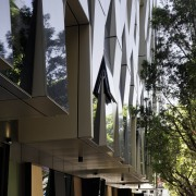 Promenade Aqui by Woods Bagot - Promenade Aqui architecture, building, facade, house, black, gray
