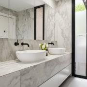 LSA Architects - TIDA AUS 2017 – Architect-designed bathroom, countertop, floor, interior design, product design, room, sink, tap, gray