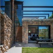 Architect: Alexandra Buchanan ArchitecturePhotography by Debra McFadzean architecture, facade, home, house, property, real estate, black