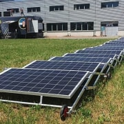 Transportable Solar Microgrid energy, solar energy, solar panel, solar power, technology, brown