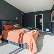 The master bedroom exudes character – only a