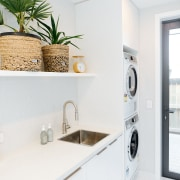 Crisp, white and bright – both the laundry