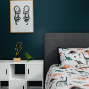Even this children's bedroom – one of the