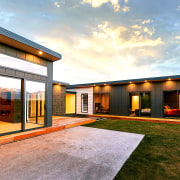 As well as generous outdoor living, the homes