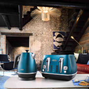 Delonghi Toaster - blue | home | interior blue, home, interior design, small appliance, black