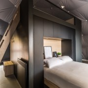 Dome 7 architecture, ceiling, interior design, room, gray, black
