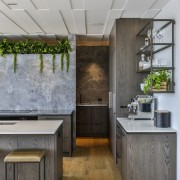 The kitchen needed to have a modern edge,