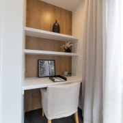 The discreet study nook – just one of