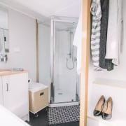 Build Tiny – Millennial bathroom, bathroom accessory, bathroom cabinet, home, property, room, white