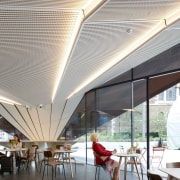 Roundabout7 - architecture | canopy | ceiling | architecture, canopy, ceiling, daylighting, interior design, roof, shade, white, gray